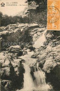 Vizzavona La Cascade Wasserfall Vizzavona