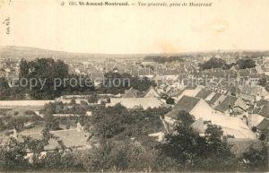 Saint Amand Montrond Vue generale prise de Montrond Saint Amand Montrond