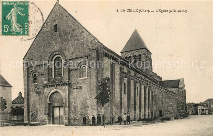 La_Celle_Cher Eglise XIIe siecle La_Celle_Cher