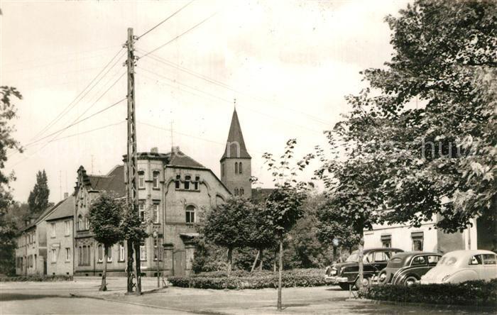 Sandersdorf_Sachsen Anhalt Rudolf Breitscheid Platz Sandersdorf