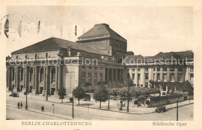 Charlottenburg Staedtische Oper Charlottenburg