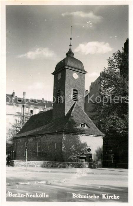 Neukoelln Boehmische Kirche Neukoelln