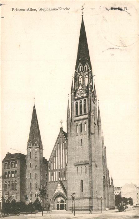 Berlin Stephanus Kirche Prinzenallee Berlin