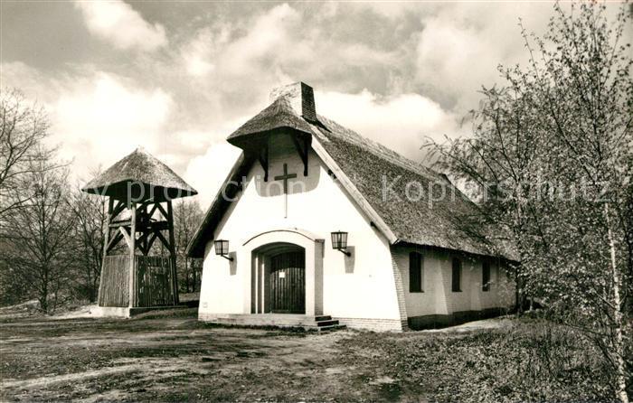 Gross_Glienicke Schilfdachkapelle Zum guten Hirten Gross Glienicke