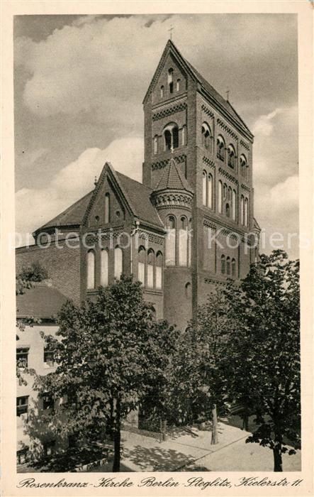 Steglitz Rosenkranz Kirche Steglitz
