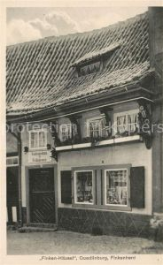 AK / Ansichtskarte Quedlinburg Historisches Haus Quedlinburg