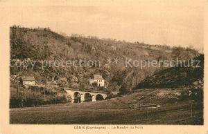 AK / Ansichtskarte Genis Moulin du Pont Genis