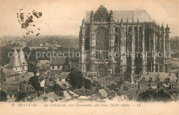 AK / Ansichtskarte Beauvais La Cathedrale Beauvais