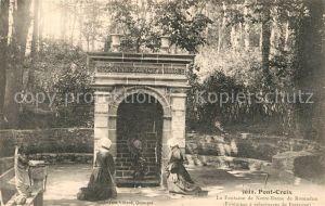 AK / Ansichtskarte Pont Croix Fontaine de Notre Dame de Roseudon Pont Croix