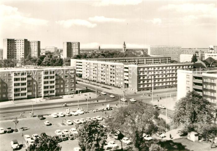 AK / Ansichtskarte Dessau Rosslau Ecke August Bebel Willy Lohmann Strasse Dessau Rosslau