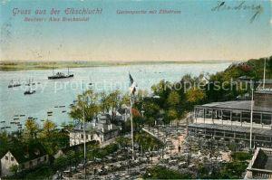 AK / Ansichtskarte Hamburg Elbschlucht Besitzer Alex Breckwoldt Hamburg