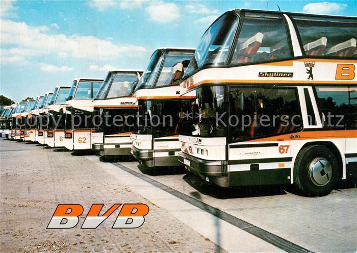 AK / Ansichtskarte Berlin BVB Bus Verkehr Berlin KG Berlin