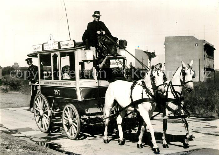 AK / Ansichtskarte Berlin Pferdekutsche von 1897 Berlin