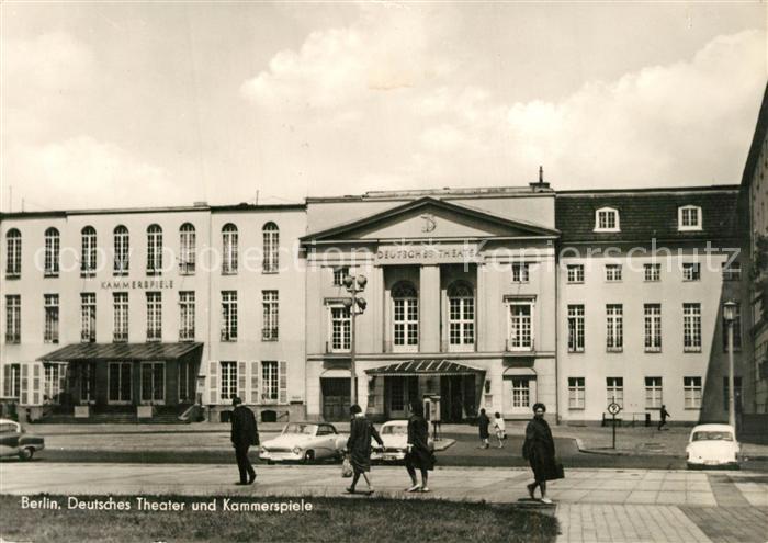 AK / Ansichtskarte Berlin Deutsches Theater und Kammerspiele Berlin