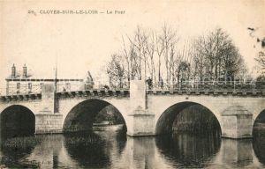 AK / Ansichtskarte Cloyes sur le Loir Le Pont Cloyes sur le Loir