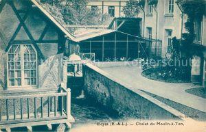 AK / Ansichtskarte Cloyes sur le Loir Chalet du Moulin a Tan Cloyes sur le Loir