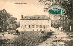 AK / Ansichtskarte Ecrosnes Chateau Ecrosnes