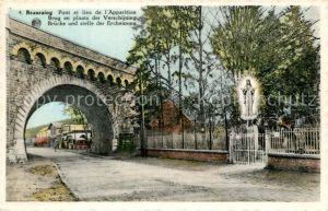 AK / Ansichtskarte Beauraing Pont et lieu de l Apparition Beauraing