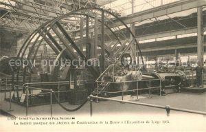 AK / Ansichtskarte Exposition_Universelle_Liege_1905 Societe anonyme de Construction des Ateliers de la Meuse