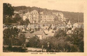 AK / Ansichtskarte Gaillon Vue d ensemble et le chateau Gaillon