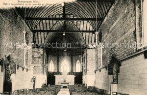 AK / Ansichtskarte Etrepagny Eglise reconstruite apres incendie de Decembre 1929 Etrepagny