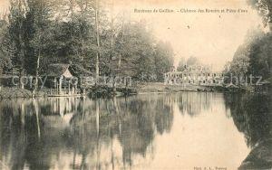 AK / Ansichtskarte Gaillon Chateau des Rotoirs et piece d eau Gaillon