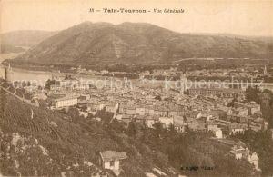 AK / Ansichtskarte Tain l_Hermitage Tournon vue generale Tain l Hermitage