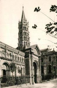 AK / Ansichtskarte Toulouse_Haute Garonne Clocher de la Basilique Saint Sernin Toulouse Haute Garonne