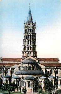 AK / Ansichtskarte Toulouse_Haute Garonne Abside de la Basilique Saint Sernin Toulouse Haute Garonne