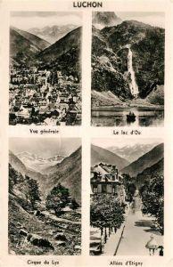 AK / Ansichtskarte Luchon_Haute Garonne Cirque du Lys All?e d`Etigny Lac d`Oo Luchon Haute Garonne