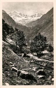 AK / Ansichtskarte Luchon_Haute Garonne Cirque du Lys Pic et Glaciers de Crabioules Luchon Haute Garonne