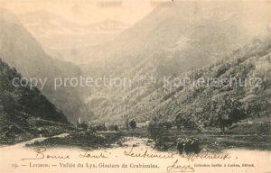 AK / Ansichtskarte Luchon_Haute Garonne Vall?e du Lys Glaciers de Crabioules Luchon Haute Garonne