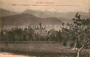 AK / Ansichtskarte Montrejeau_Haute Garonne Chateau de Valmirande Montrejeau Haute Garonne