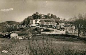 AK / Ansichtskarte Aurignac Ruines du Chateau Fort et mont?e St. Roch Aurignac