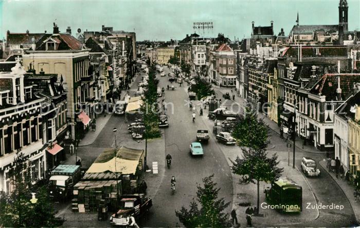 AK / Ansichtskarte Groningen Zuiderdiep Groningen