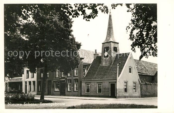 AK / Ansichtskarte Nieuweschans Torengebouw Nieuweschans