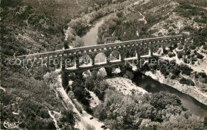 AK / Ansichtskarte Pont du Gard Fliegeraufnahme Pont Pont du Gard