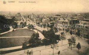 AK / Ansichtskarte Cambrai Panorama des Boulevards Cambrai