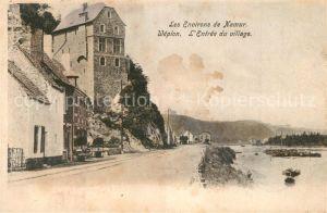 AK / Ansichtskarte Wepion Entree du village Wepion