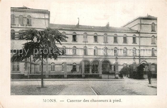 AK / Ansichtskarte Mons_Ales Caserne des chasseurs a pied Mons_Ales