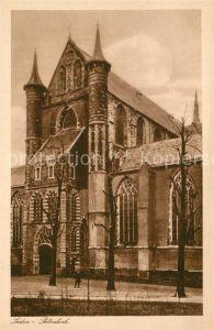 AK / Ansichtskarte Leiden Peterskerk Leiden