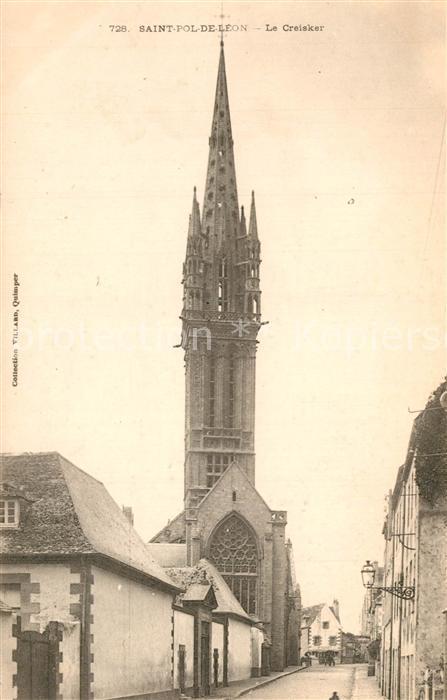 AK / Ansichtskarte Saint Pol de Leon Le Creisker Saint Pol de Leon