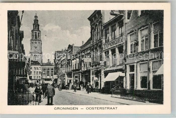 AK / Ansichtskarte Groningen Oosterstraat Kerk Groningen