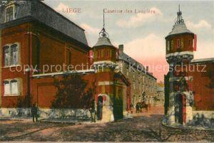 AK / Ansichtskarte Liege_Luettich Caserne des Lanciers Liege Luettich