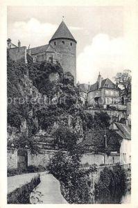 AK / Ansichtskarte Semur en Auxois La Tour du Chateau les Remparts Semur en Auxois