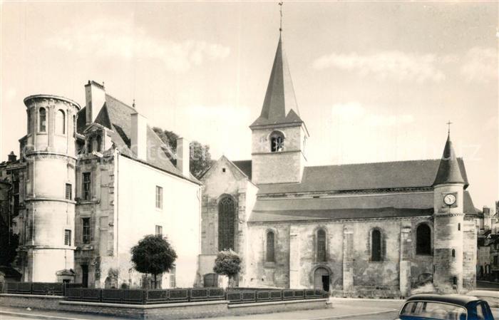 AK / Ansichtskarte Chatillon sur Seine Schloss Chatillon sur Seine
