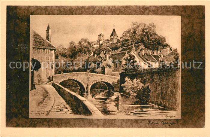 AK / Ansichtskarte Chatillon sur Seine Pont du Pertuis Chatillon sur Seine