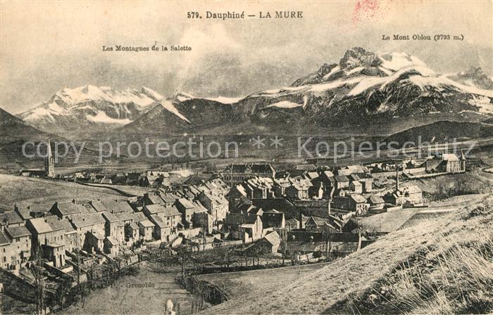 AK / Ansichtskarte Dauphine La Mure Dauphine