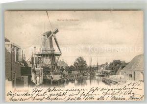 AK / Ansichtskarte Haarlem Molen de Adrinan Windmuehle Haarlem