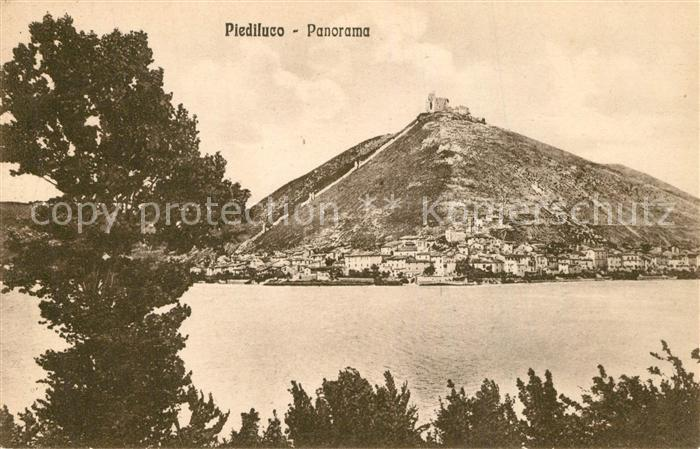 AK / Ansichtskarte Terni Piediluco Panorama Terni